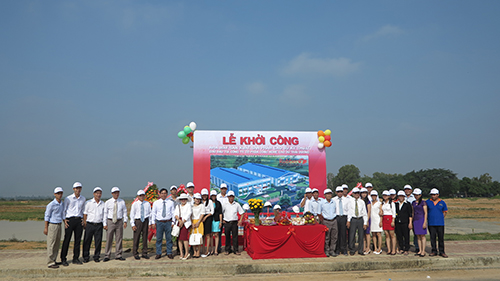 GROUND BREAKING CEREMONY OF THE FACTORY OF TECHNICAL RUBBER PARTS